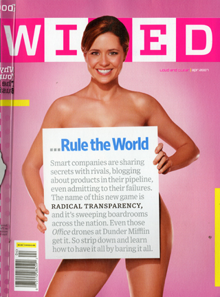 The April cover of Wired was