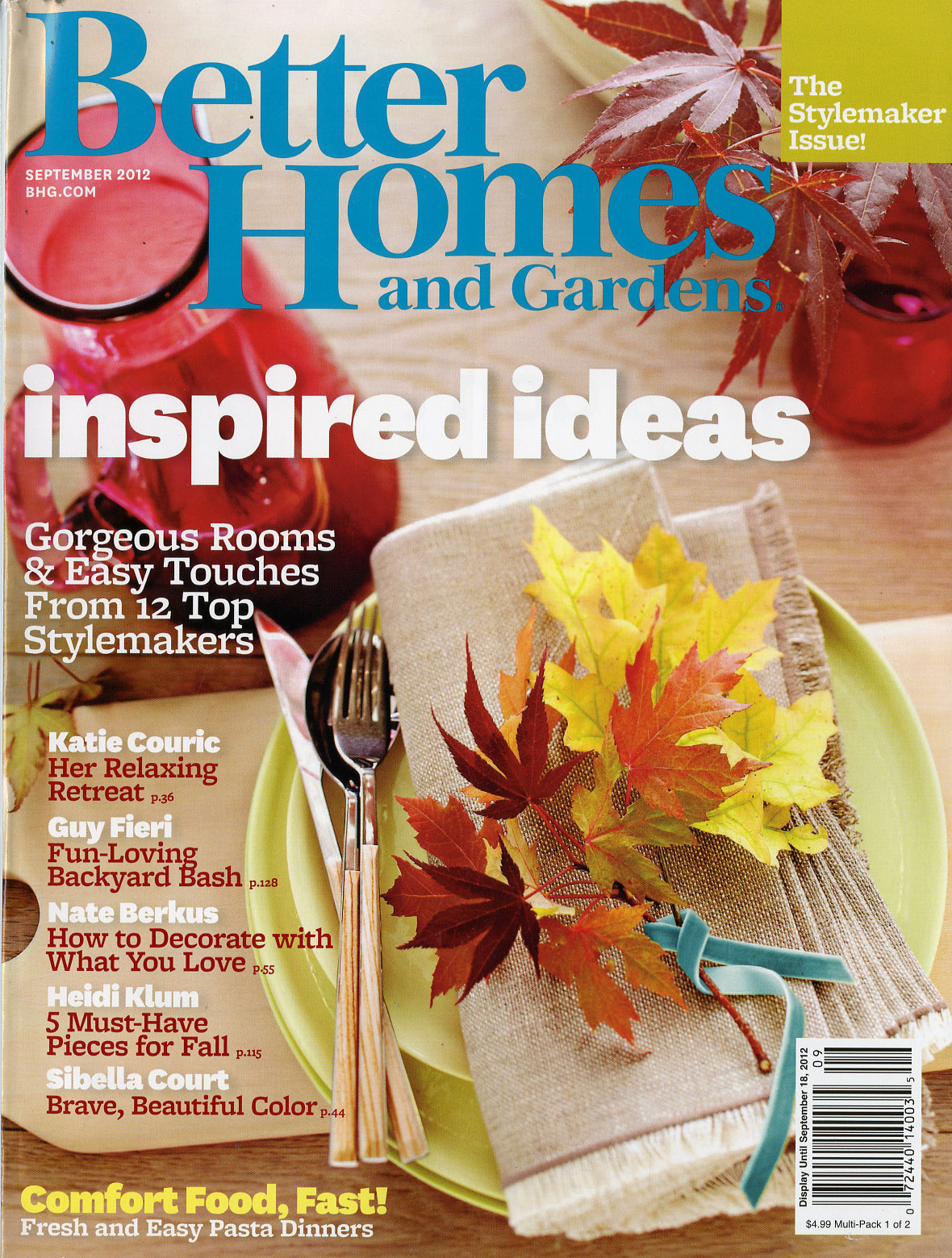 A sign of the times from better to good to a new Better homes and gardens current issue
