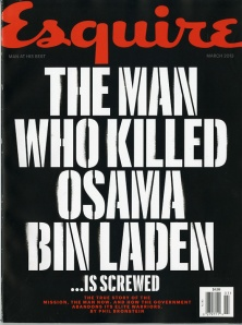 Esquire - The Man Who Killed Osama Bin Laden