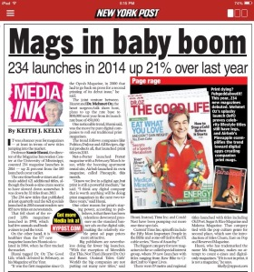 "The interview with Samir ""Mr. Magazine™"" Husni as it appeared in the New York Post."