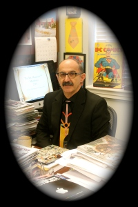 Mr. Magazine™ in his official role as a professor and educator.