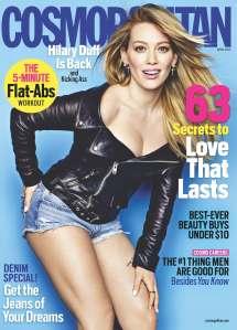 Cosmo April '14 Cover