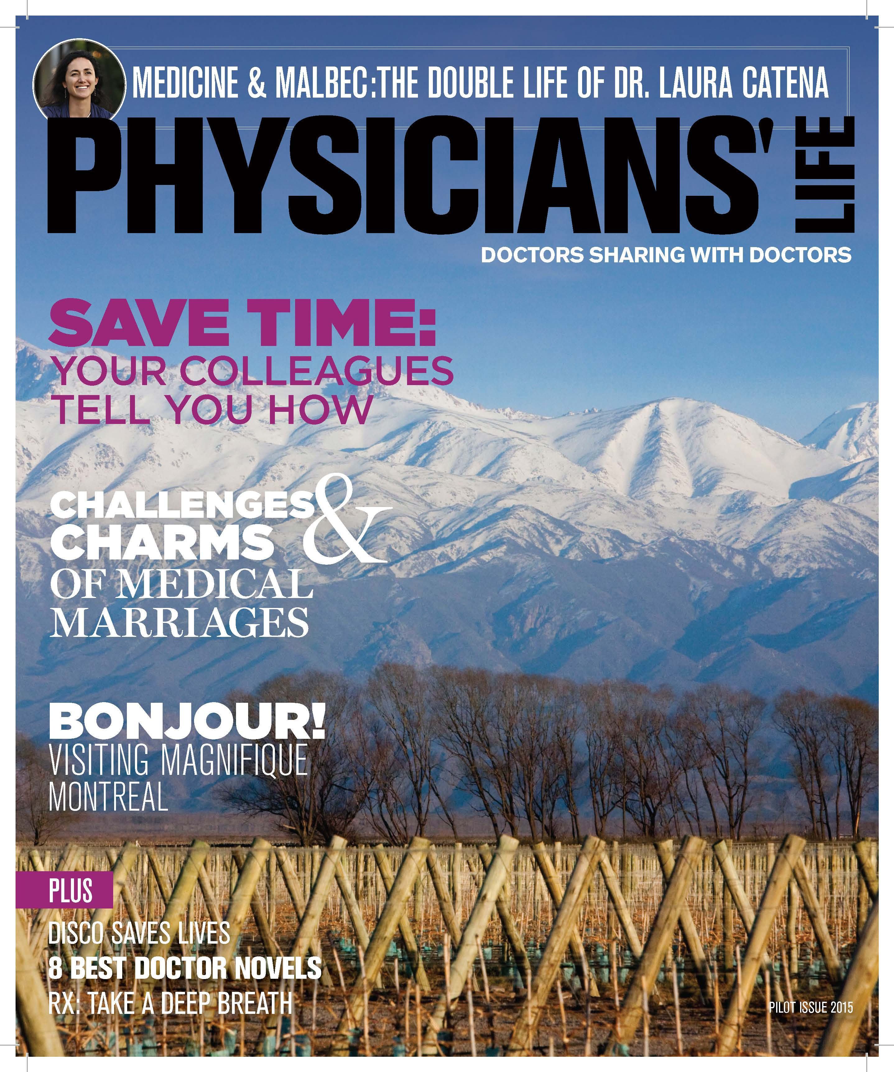 the doctor is in as physicians life magazine gets ready to launch physicianslifecover