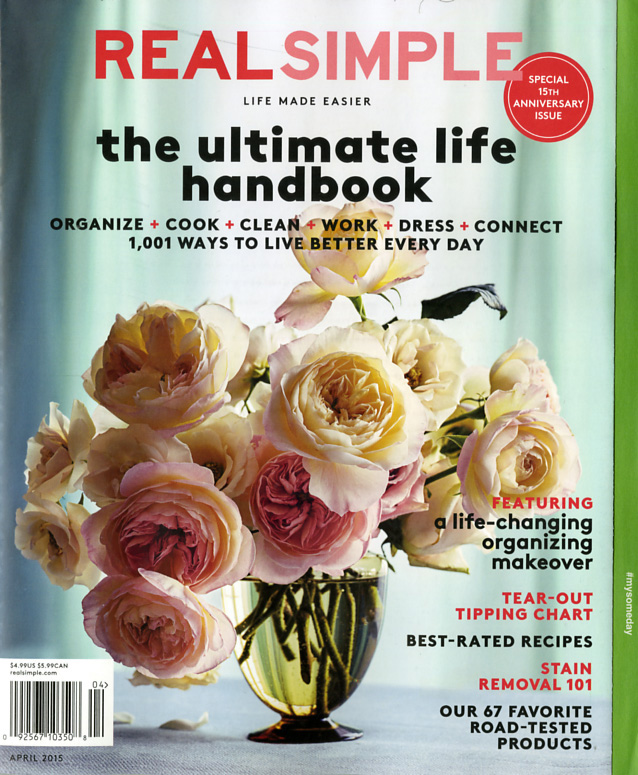 """02ac66547ed Simplifying Women s Lives For 15 Years – A """"Real Simple Magazine ..."""