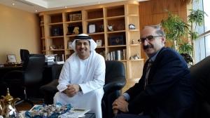 Interviewing Mr. Faisal Salem Bin Haider