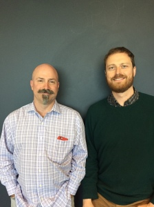 Max Schorr, (right) Co-Founder GOOD and Will Tacy, Good Media General Manager.