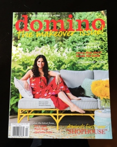 Perfect for the coffee table: The latest issue of Domino