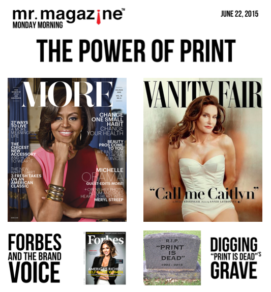 the power of print Many times readers are passionate about the printed paper, and they may be younger and more digitally engaged than conventional wisdom would have it.