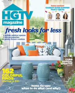 HGTV July Aug 15 Cover