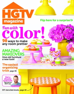 HGTV Mag Cover - May '14