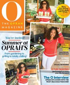 O Mag August Cover