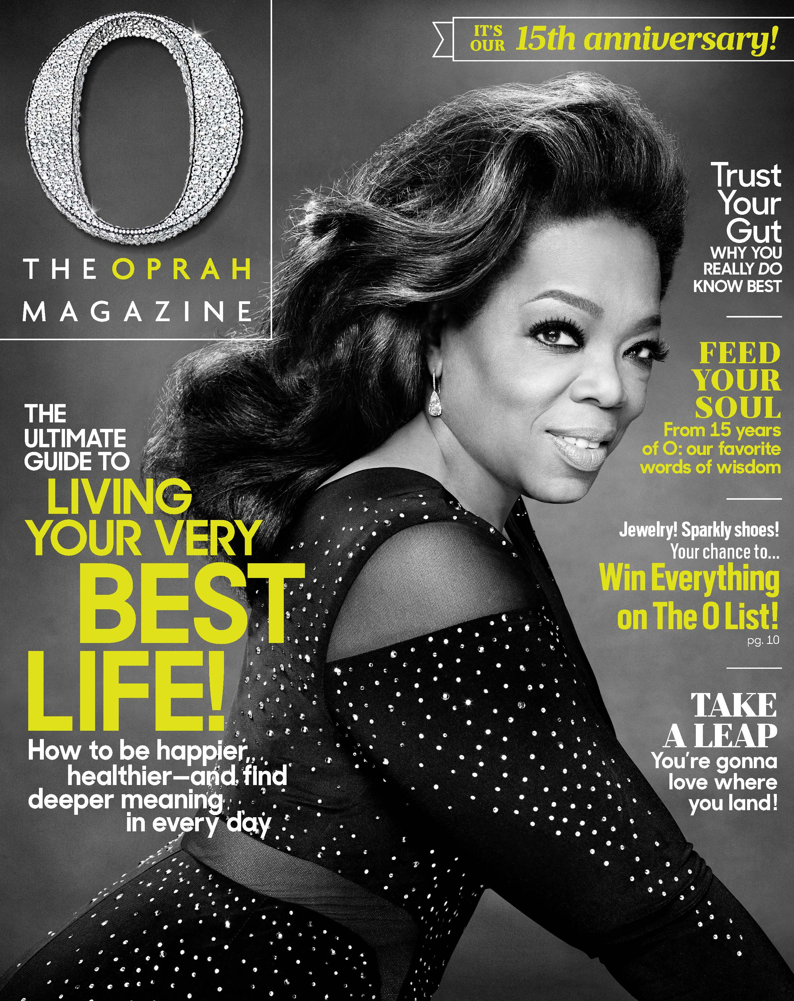 15 Years And Counting – O, The Oprah Magazine Celebrates The Major ...