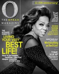 O Mag May Cover