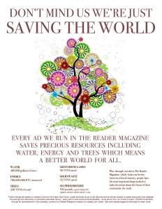 Environmental Impact of Reader Vs. PennySaver copy