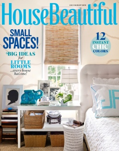 House Beautiful July Aug 15 Cover
