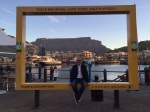 Mr. Magazine™ at the waterfront in Cape Town.