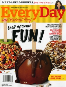 The last issue of Every Day with Rachael Ray before the name and logo changes.