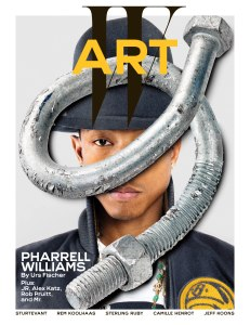 W Art first cover Pharrell 2014