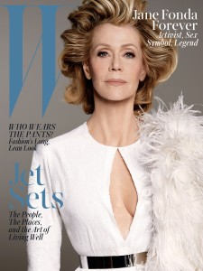W Jane Fonda Cover June July 2015