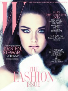 W Kristen Stewart Cover Sept 2011