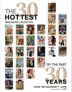 The 30 Hottest Magazine Launches of the Last 30 Years to be published April 14. The book is published by the Magazine Innovation Center in partnership with min (media industry newsletter) and is sponsored by Fry Communications.
