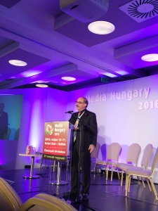 Samir Husni at Media Hungary