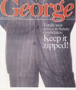 One of Roger Black's prototype covers of George