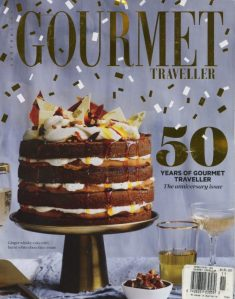 Gourmet Traveller Magazine. 50 Years Old