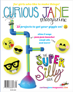 Curious Jane Super Silly issue