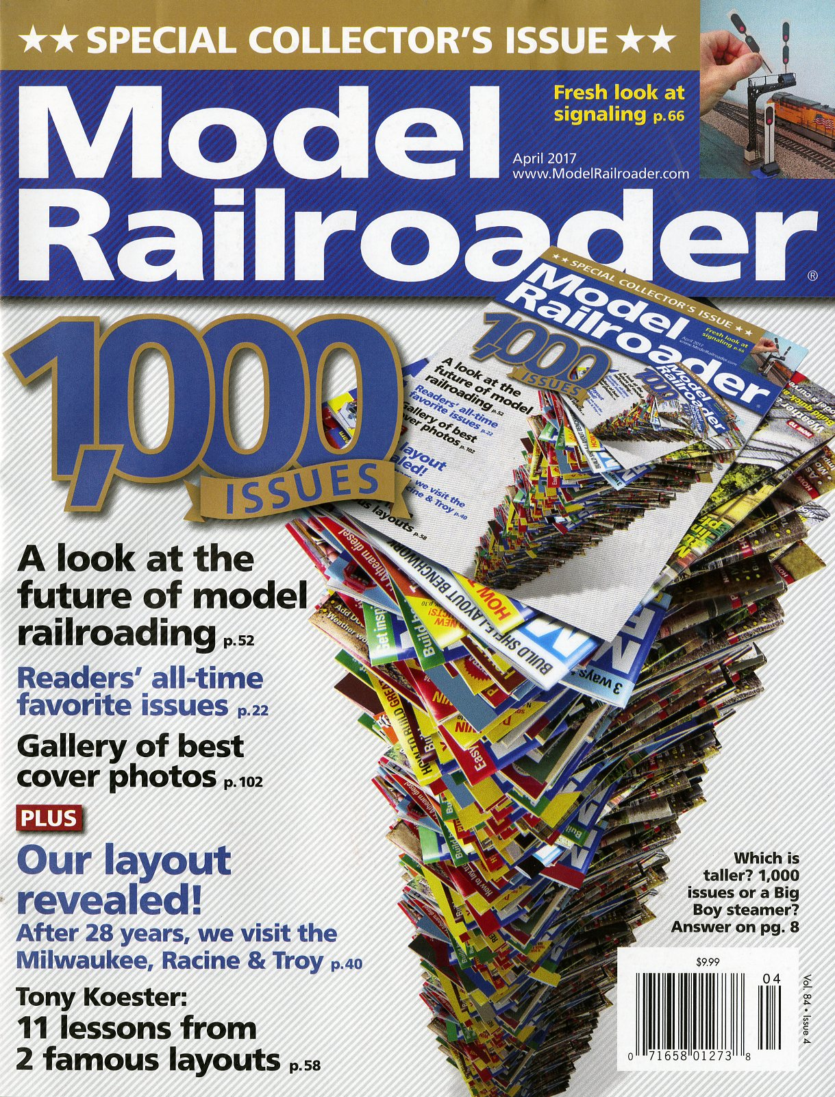 model railroader magazine celebrating over 80 years of publishing success with a 1000th issue that captures both the past u0026 the future with an authentic