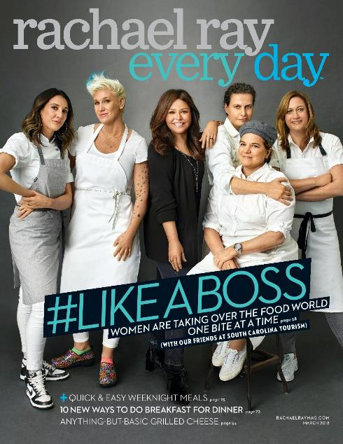c15c154cfe74 Rachael Ray Every Day: A New Logo That Puts Rachael Up Front & More Changes  To Come That Give The Magazine A Fresh Outlook On The Future – The Mr.  Magazine™ ...