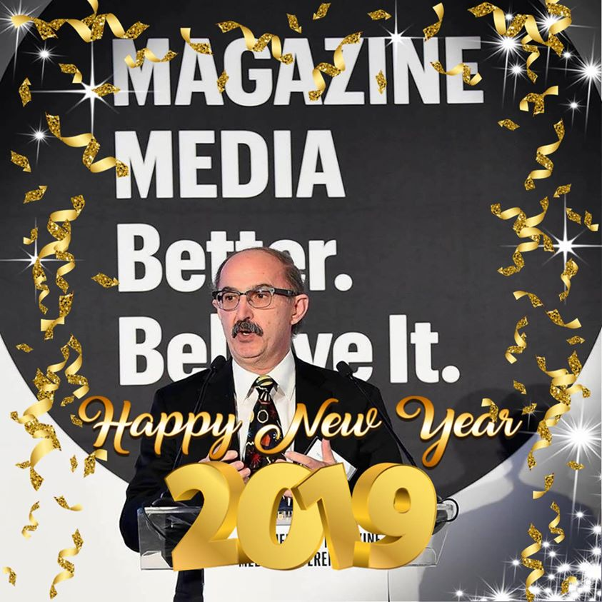 07c5d3af2c2 It s a brand new year and Mr. Magazine™ for one is excited and focused on  all of the good things 2019 can and will bring to magazines and magazine  media.